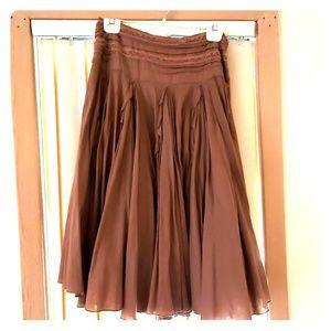 Mauve blush skirt